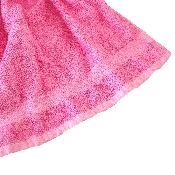 コートジボワール タオル 人形(タオルカラー ピンク)【画像5】