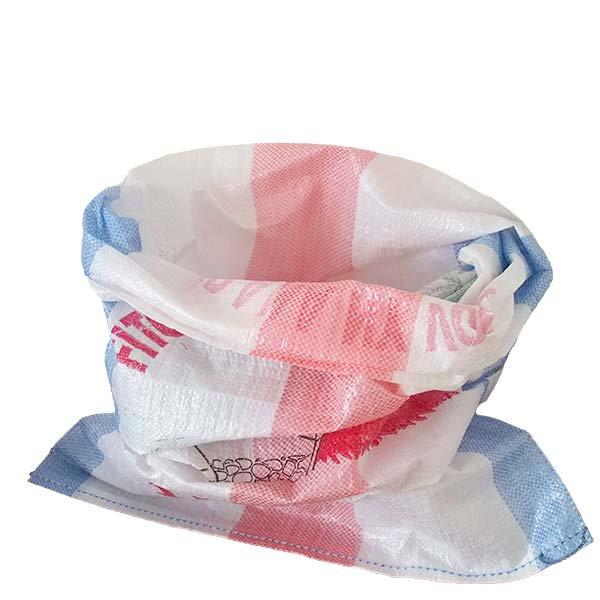 マダガスカル マラガシプラスチック 米袋(約100×56)【画像5】
