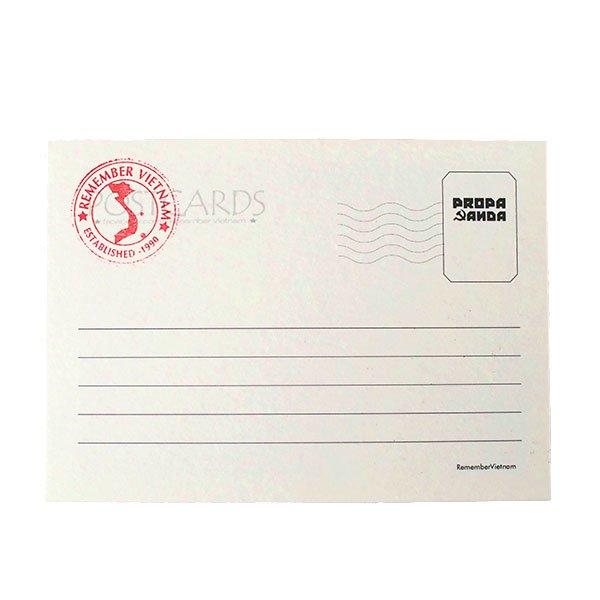 ベトナム プロパガンダポストカード