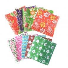 ベトナム 包装紙 折り紙サイズ いろいろ 10種セット