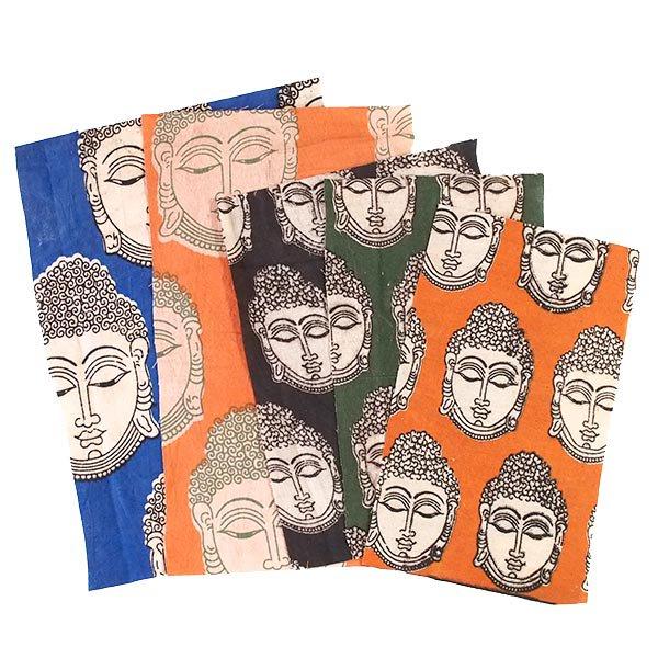 インド ウッドブロック プリント (木版)ブッダ おたのしみ 袋 【画像2】