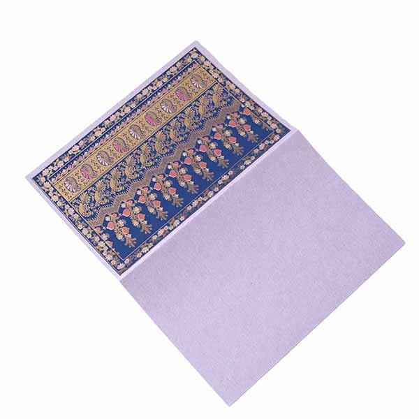 インド  chimanlals(チマンラール)メッセージカード NOOR B トリと植物(封筒付き)【画像6】