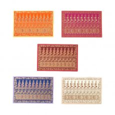 トリ (鳥) 雑貨 インド  chimanlals(チマンラール)メッセージカード NOOR B トリと植物(封筒付き)