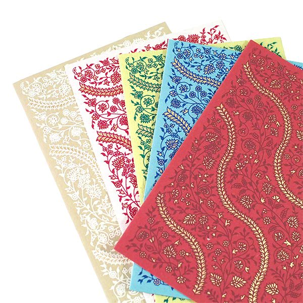 インド  chimanlals(チマンラール)メッセージカード SONARI (封筒付き)【画像7】
