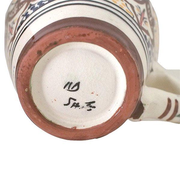 モロッコ サフィ陶器 カップ(ブラウン)【画像2】