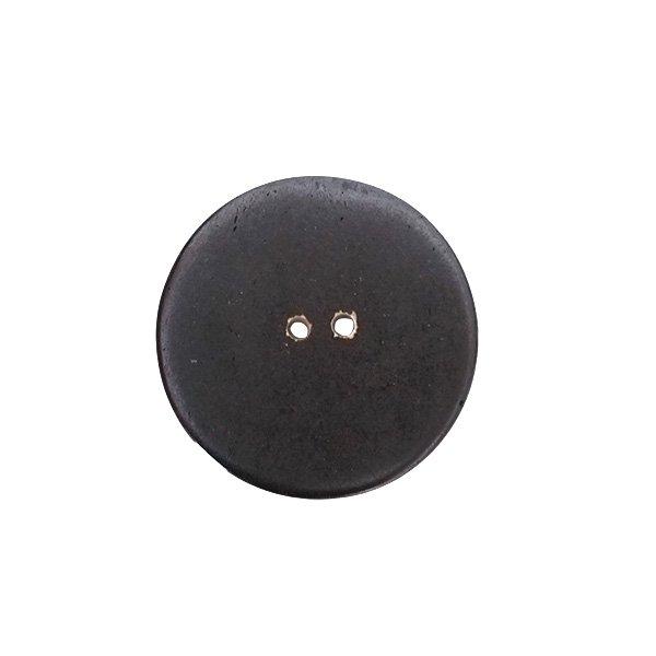ネパール 水牛の角で作られた ボタン(丸 模様 直径3cm)ハンドメイド 手芸【画像3】