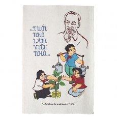 プロパガンダアート ベトナム プロパガンダ アート ポスター ミニ(A)約30×20