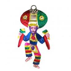 メキシコ ブリキオーナメント(Guelaguetza  ゲラゲッツァ A )