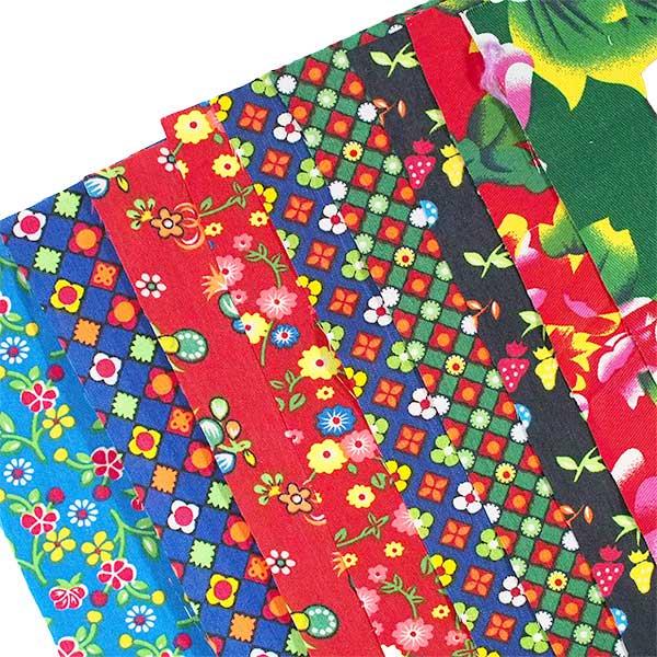 アジアン はぎれ 布 ベトナム / インド  (30×50)【画像2】