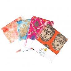 アジアン はぎれ 布 インド  (20×50)