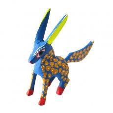 アレブリヘス メキシコ ウッドカービング アレブリヘス (空想動物 ブルー)