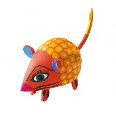 アレブリヘス メキシコ ウッドカービング アレブリヘス (ネズミ  オレンジ)