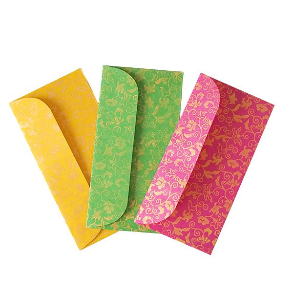カラフルな封筒(3色)