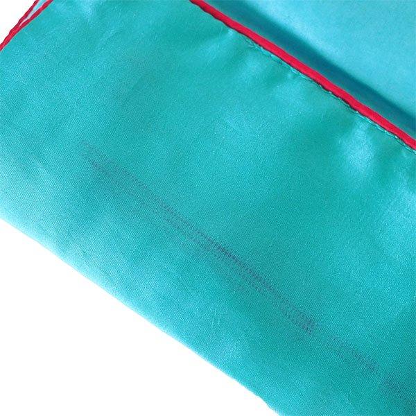 ベトナム 蓮 ロータス 刺繍 アクセサリーポーチ(2色)【画像9】