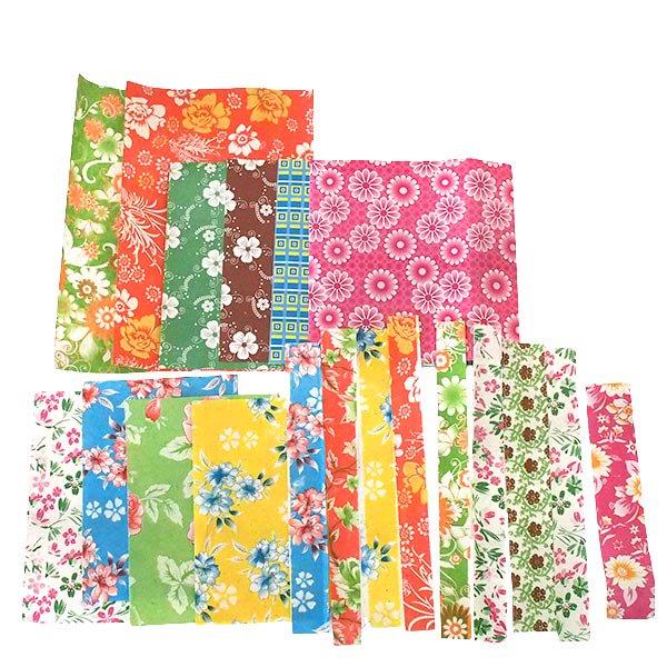 ベトナム 包装紙 コラージュ素材 おたのしみセット 【画像2】