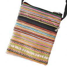 モン族 刺繍 ポシェット(P 15×13)少数民族 / ベトナム直輸入