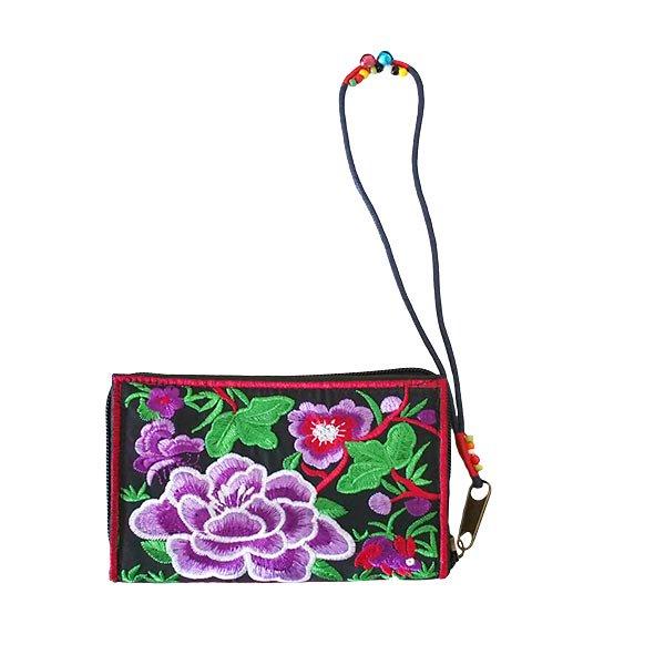 ベトナム 牡丹 刺繍 財布(5色)【画像5】