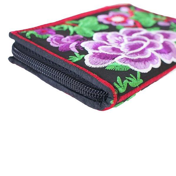 ベトナム 牡丹 刺繍 財布(5色)【画像7】