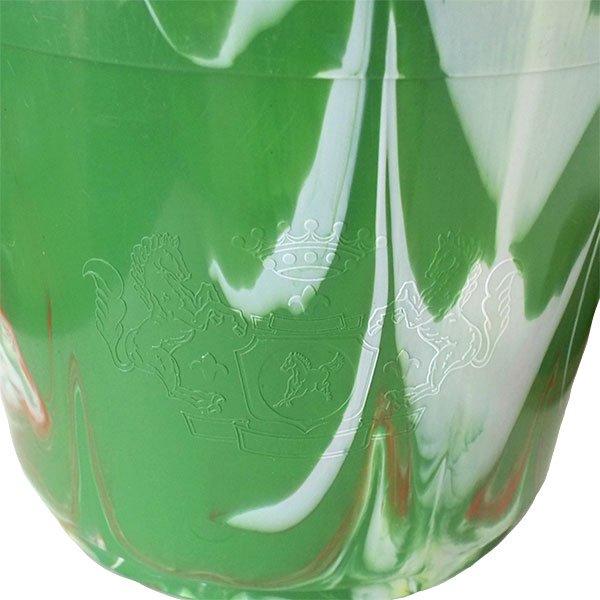 セネガル プラスチックバケツ(グリーン×ライトブラウン 15リットル)【画像2】