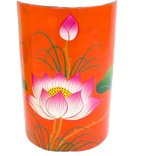 ベトナム 漆 蓮の花 ペン立て A(4色)【画像2】