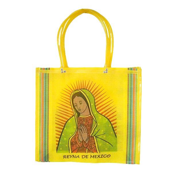 【メキシコ直輸入】メキシコ マリア(グアダルーペ) メルカド バッグ (イエロー )【画像3】