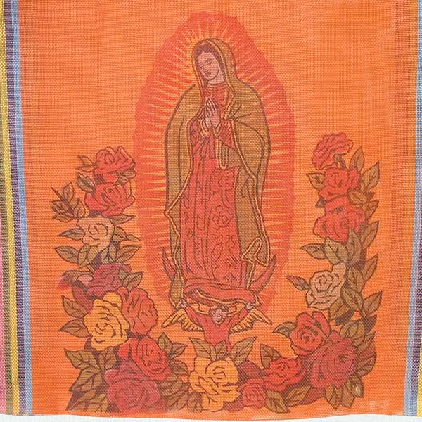 【メキシコ直輸入】メキシコ マリア(グアダルーペ) メルカド バッグ (オレンジ)【画像2】