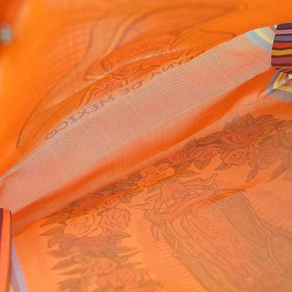 【メキシコ直輸入】メキシコ マリア(グアダルーペ) メルカド バッグ (オレンジ)【画像6】