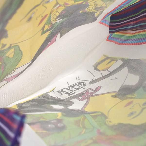 【メキシコ直輸入】メキシコ フリーダ・カーロ メルカド バッグ (ホワイト×パープル)【画像6】