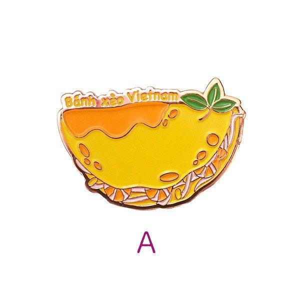 ベトナム ピンバッジ (バインセオ・PHO・バインミー)【画像2】
