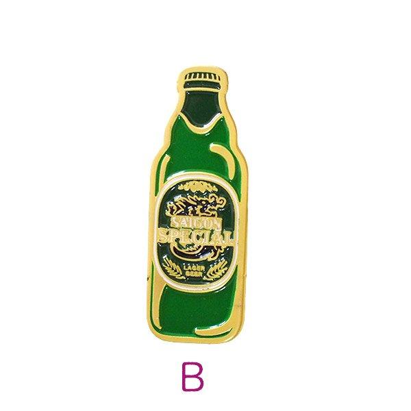 ベトナム ピンバッジ (ベトナムコーヒー・サイゴンスペシャルビール)【画像3】