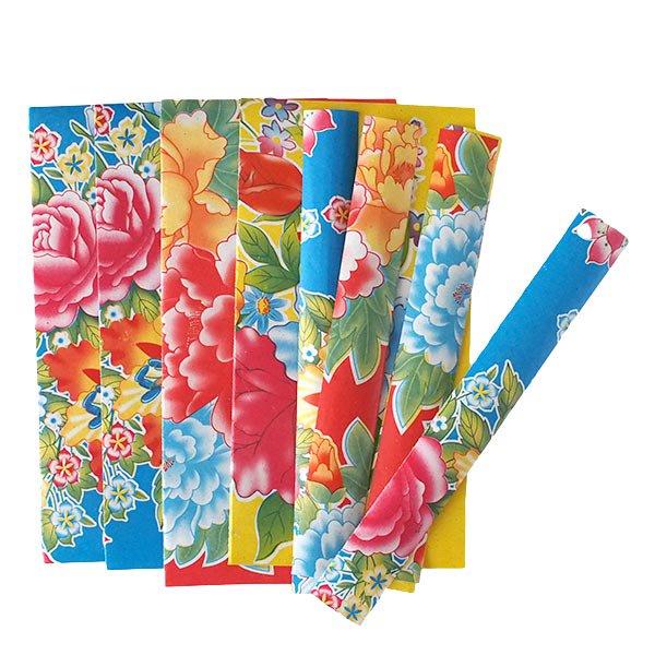ベトナム 包装紙 コラージュ素材 C