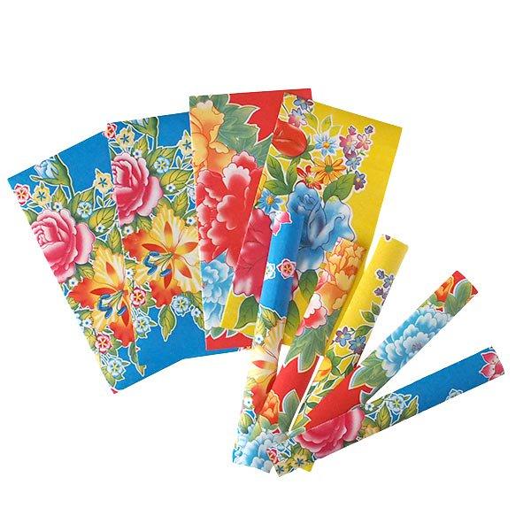 ベトナム包装紙コラージュ素材