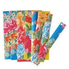 キッチュな紙もの  ベトナム 包装紙 コラージュ素材 C
