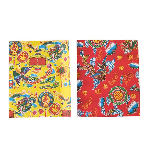 ベトナム 包装紙 縁起の良い柄  5種セット【画像2】