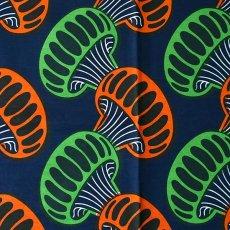 アフリカン プリント布 パーニュ 115×90 カットオフ(クラゲ)