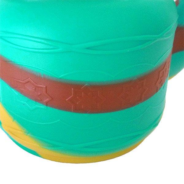 セネガル プラスチック やかん(2.5リットル  ブルーグリーン)【画像3】