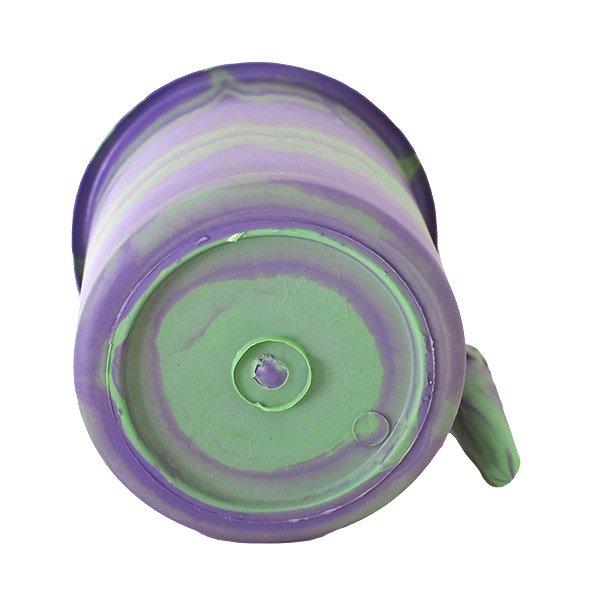 セネガル プラスチックコップ(1リットル パープル×グリーン)【画像2】