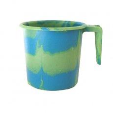 セネガル プラスチックコップ(1リットル グリーン×ブルー)