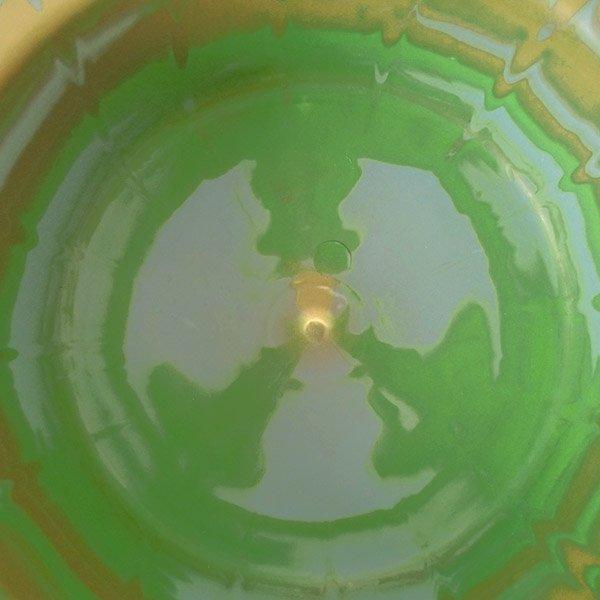 セネガル プラスチック 洗面器(直径 32cm グリーン×ブラウン)【画像4】