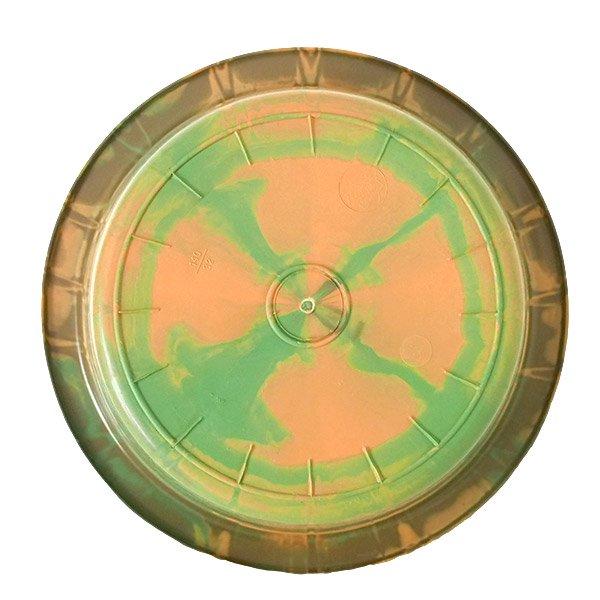 セネガル プラスチック 洗面器(直径 32cm ブラウン×グリーン)【画像2】