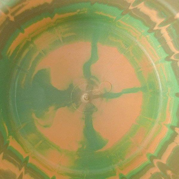 セネガル プラスチック 洗面器(直径 32cm ブラウン×グリーン)【画像4】