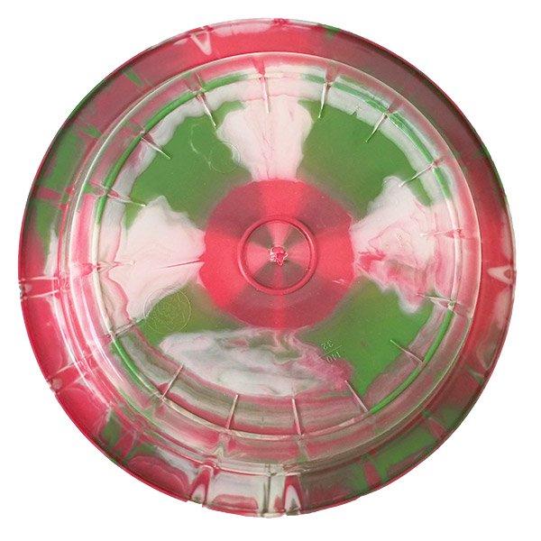 セネガル プラスチック 洗面器(直径 32cm レッド×グリーン)【画像2】