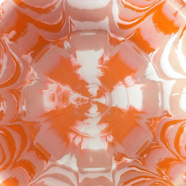 セネガル プラスチック持ち手付きの桶(薄めブラウン×オレンジ  15リットル)【画像4】