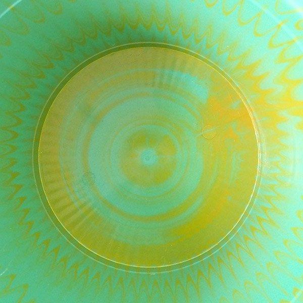 セネガル プラスチック持ち手付きの桶(グリーン×イエロー  12リットル)【画像4】
