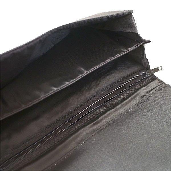 ベトナム 蓮 ロータス 刺繍 長財布(ブラック)【画像6】