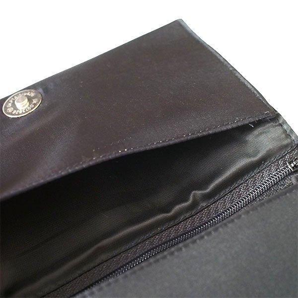 ベトナム 蓮 ロータス 刺繍 長財布(ブラック)【画像7】