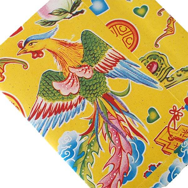 ベトナム 包装紙 縁起の良い柄  小袋  8枚セット【画像3】