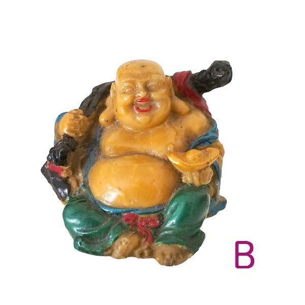 ベトナム 布袋尊さん 置物 (D)約5cm【画像4】