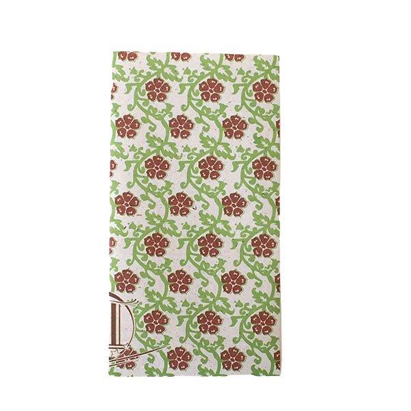 ベトナム 包装紙 花柄  小袋  4枚セット(ミックス)【画像3】