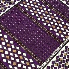 紫・パープル ケニア カンガ(日本語訳なし 2)